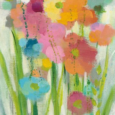 Longstem Bouquet I Square II-Silvia Vassileva-Art Print