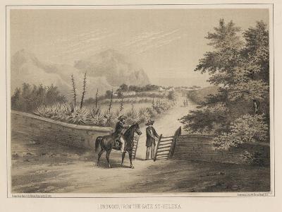Longwood, from the Gate, St. Helena, 1855-Wilhelm Joseph Heine-Giclee Print
