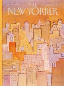 The New Yorker Cover - April 27, 1981 by Lonni Sue Johnson