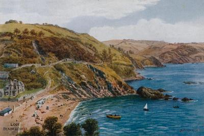 Looe, Beach and Coast-Alfred Robert Quinton-Giclee Print