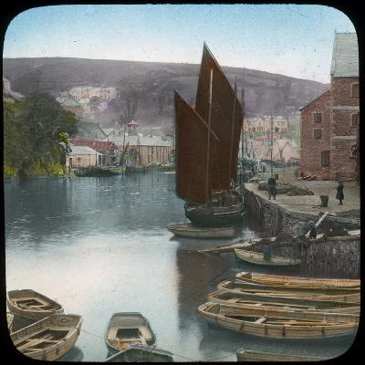 Looe, from the Quay, Cornwall, Late 19th or Early 20th Century--Giclee Print