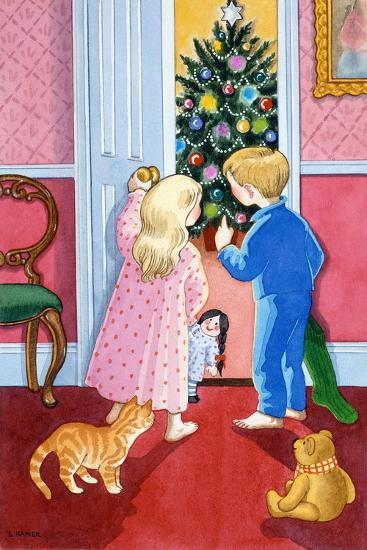 Look at the Christmas Tree-Lavinia Hamer-Giclee Print