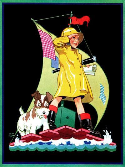 Look Out - Child Life-Keith Ward-Giclee Print