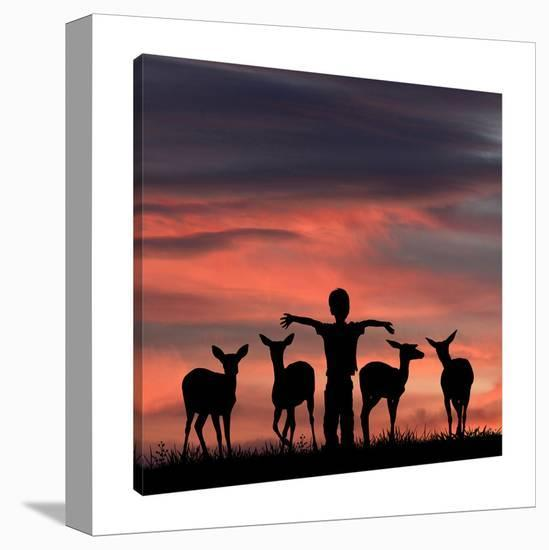 Look What I Found-Dominic Liam-Gallery Wrapped Canvas