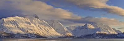 Looking across Ullsfjord, Towards the Southern Lyngen Alps, Troms, Norway, Scandinavia, Europe-Neale Clark-Photographic Print