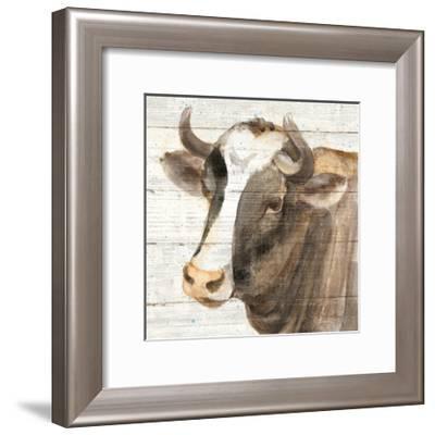 Looking at You II Shiplap-Albena Hristova-Framed Art Print