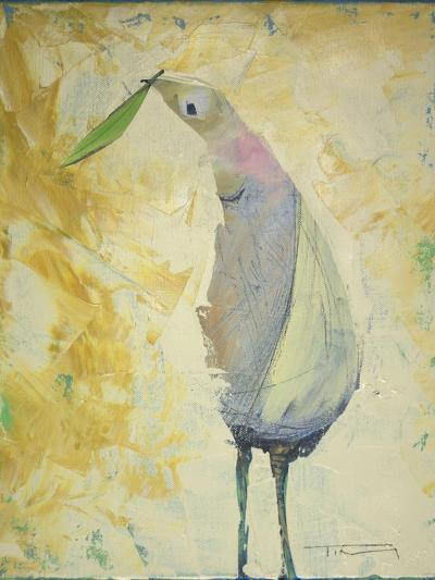 Looking Back Peace Bird-Tim Nyberg-Giclee Print