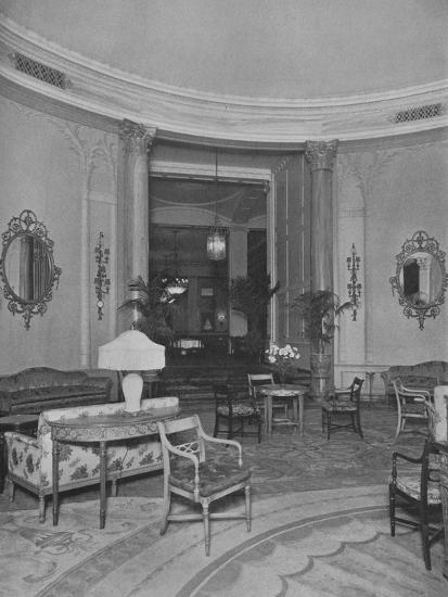 Looking from the Oval Palm Room into the Main Dining Room, Roosevelt Hotel, New York City, 1924-Unknown-Photographic Print