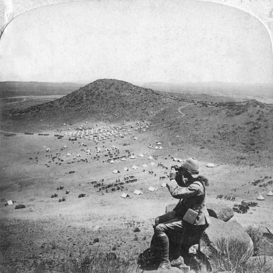 Looking into the Orange Free State, Boer War, South Africa, 1900-Underwood & Underwood-Giclee Print