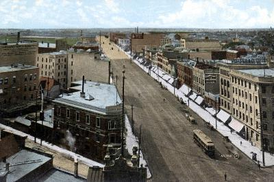 Looking North Along Main Street, Winnipeg. Manitoba, Canada, C1900s--Giclee Print