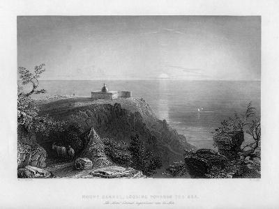 Looking Out to Sea from Mount Carmel, Israel, 1841-W Floyd-Giclee Print