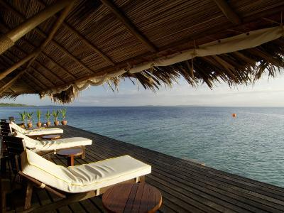 Looking Out to Sea from the Punta Caracol Hotel Verandah-Alfredo Maiquez-Photographic Print