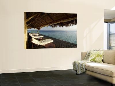 Looking Out to Sea from the Punta Caracol Hotel Verandah-Alfredo Maiquez-Wall Mural
