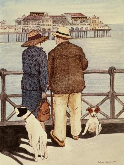 Looking Out to Sea-Gillian Lawson-Giclee Print