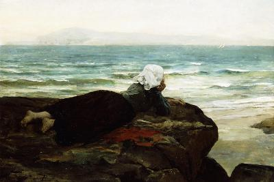 Looking Out to Sea-Jules Breton-Giclee Print