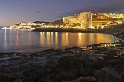 Looking Towards Patalavaca from Arguineguin, Gran Canaria, Canary Islands, Spain-Peter Thompson-Photographic Print