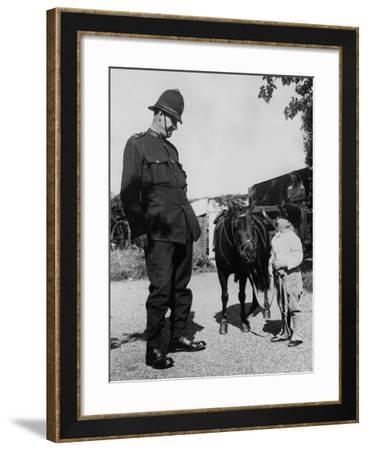 Looking up to the Law-William Vanderson-Framed Photographic Print
