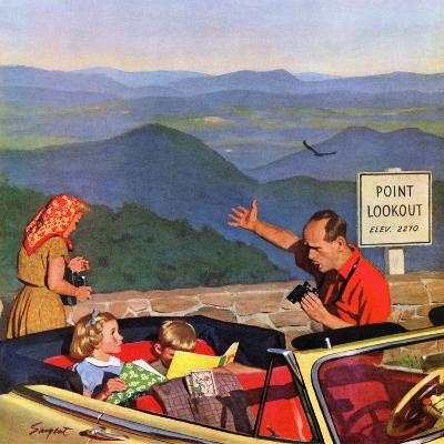 """Lookout Point"", July 18, 1953-Richard Sargent-Giclee Print"