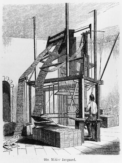 Loom Designed by Joseph Marie Jacquard 2nd Half of 19th Century--Giclee Print