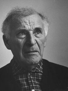 French Painter Marc Chagall by Loomis Dean