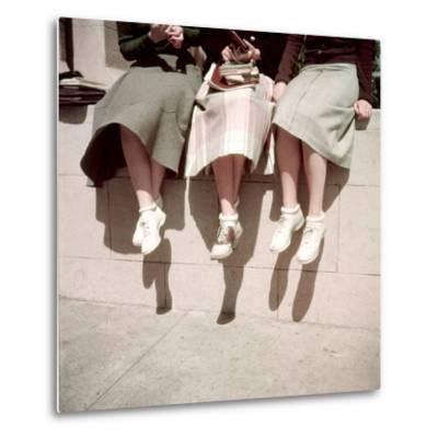 Oakland High School Teenage Girls, Oakland, CA, 1950