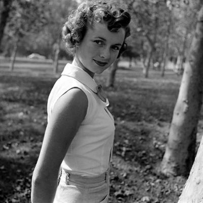 Portrait of American Actress Debbie Reynolds, 1950