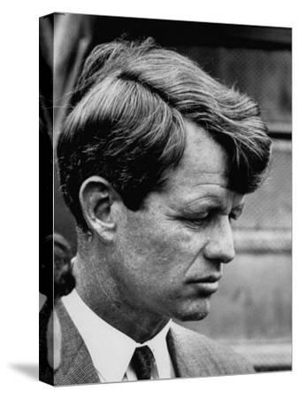 Sen. Robert F. Kennedy Arriving at La Guardia Airport
