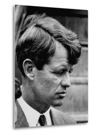 Sen. Robert F. Kennedy Arriving at La Guardia Airport