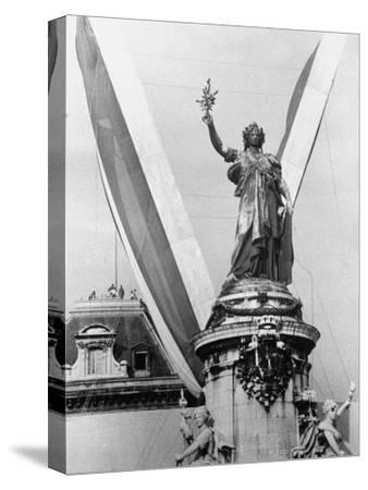 Statue in the Place de La Republique