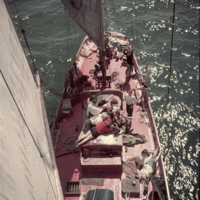 Teenagers Weekend Sailing, Seattle, Washington, 1950