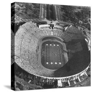 UCLA-USC Football Game by Loomis Dean