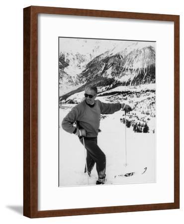 World Champion Emile Allais Ski Instructor at New Ski Resort
