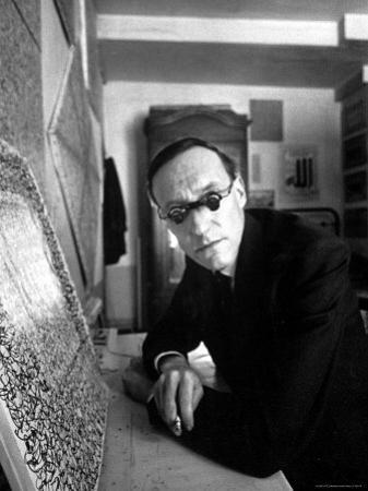Writer William S. Burroughs in What is Known as a Beat Hotel