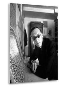 Writer William S. Burroughs in What is Known as a Beat Hotel by Loomis Dean