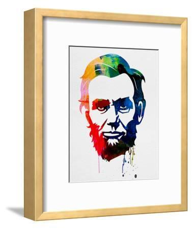 Abraham Lincoln Watercolor