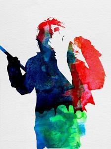 Alice Watercolor by Lora Feldman
