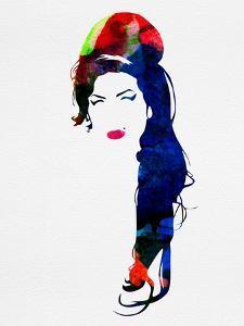 Amy Watercolor by Lora Feldman