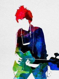 Bob Watercolor by Lora Feldman