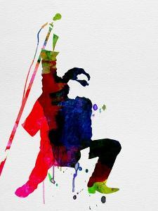 Bono Watercolor by Lora Feldman