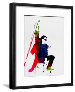 Bono Watercolor by Lora Feldman