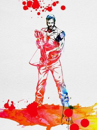 Daryl Dixon Watercolor