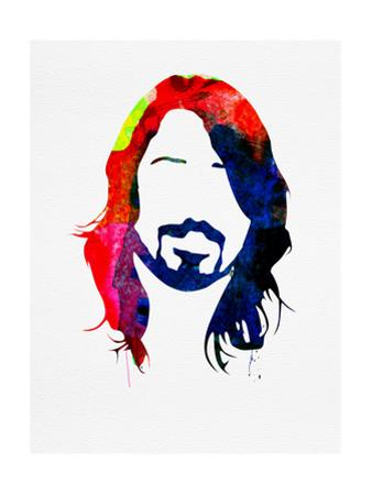 Dave Watercolor by Lora Feldman