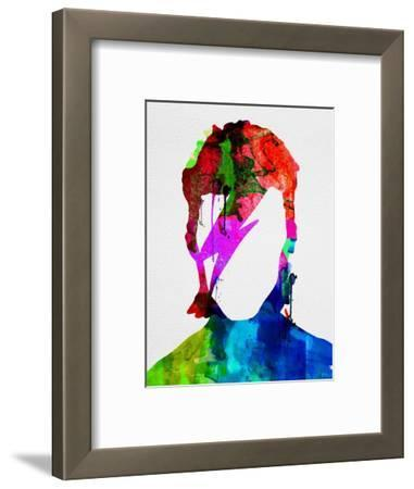 David Watercolor Portrait