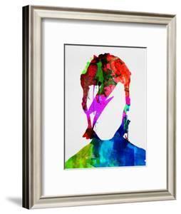 David Watercolor Portrait by Lora Feldman