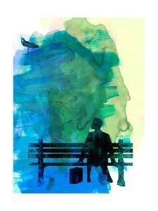 Forrest Watercolor 1 by Lora Feldman
