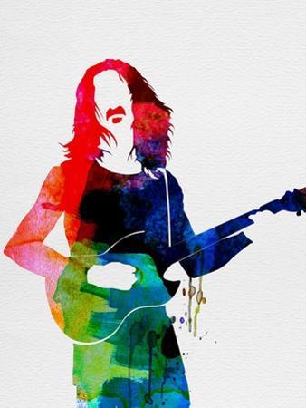 Frank Watercolor by Lora Feldman