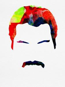 Freddie Watercolor by Lora Feldman