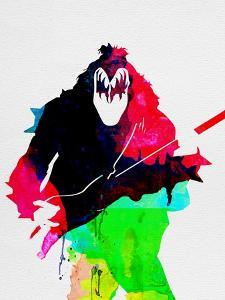 Gene Watercolor by Lora Feldman