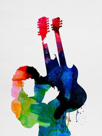 Jimmy Watercolor by Lora Feldman