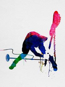 Joe Watercolor by Lora Feldman